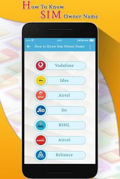 How to Know SIM Card Owner Name screenshot 1