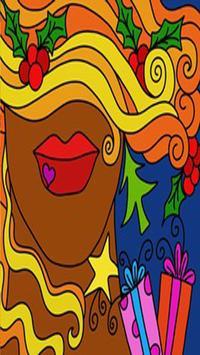coloriage coloringe Colorfy poster