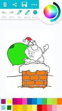 Christmas Coloring Book Games Free screenshot 1