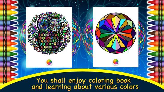 Adult Coloring Book Mandalas screenshot 14