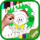 Xmas Coloring & Doodle Adult icon