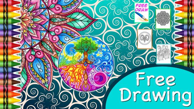 Coloring Book For Adults Apk Screenshot