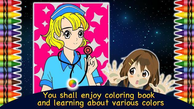Coloring Book Anime & Manga apk screenshot