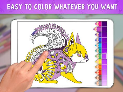 Coloring Book Bliss Poster Apk