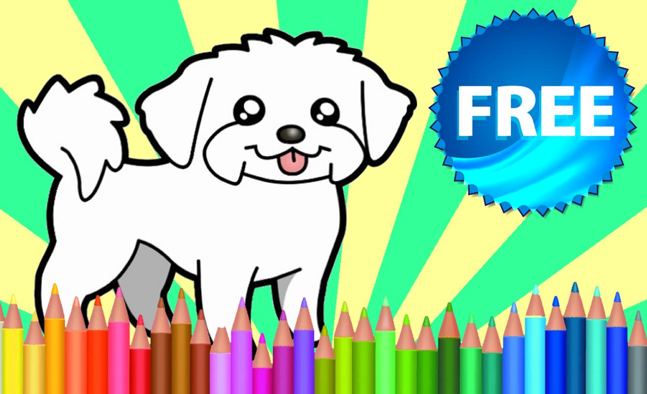 Coloring Book Dogs APK Download - Free Puzzle GAME for Android ...