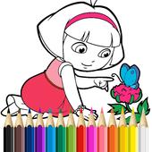 Dora Coloring Book Game For Kids APK