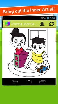 Coloring Book Games Easy Color screenshot 3