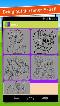 Coloring Book Games Easy Color screenshot 1