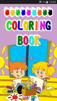Children Coloring Book poster