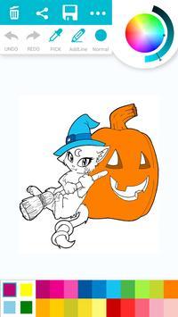 Halloween City Coloring Book apk screenshot