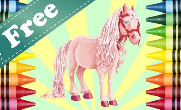 Coloring Book Pony screenshot 10