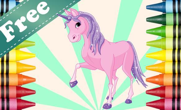 Coloring Book Pony screenshot 13