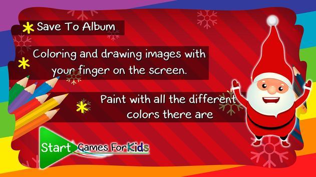 Coloring Book Santa Claus screenshot 3