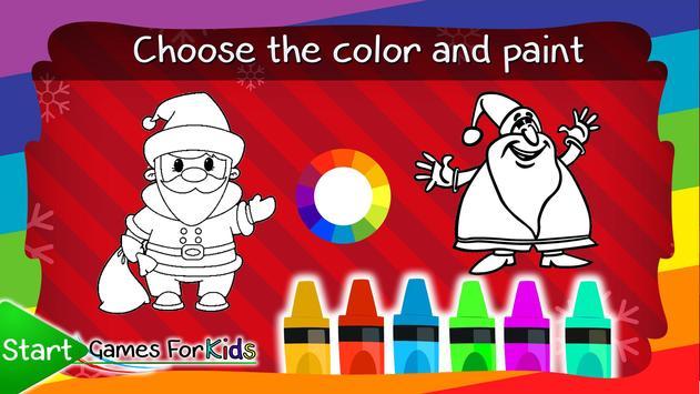 Coloring Book Santa Claus screenshot 11