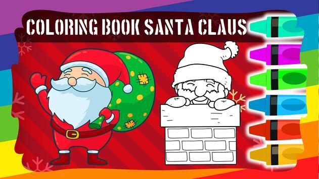 Coloring Book Santa Claus screenshot 4