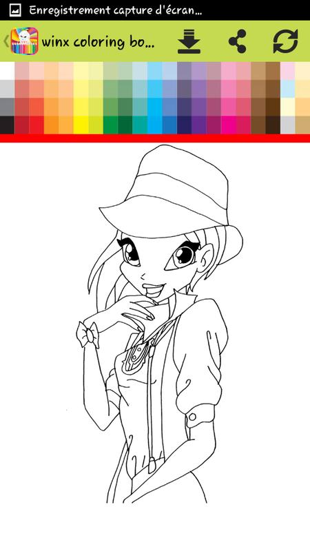How To Color Winx Coloring Pages Game For Android