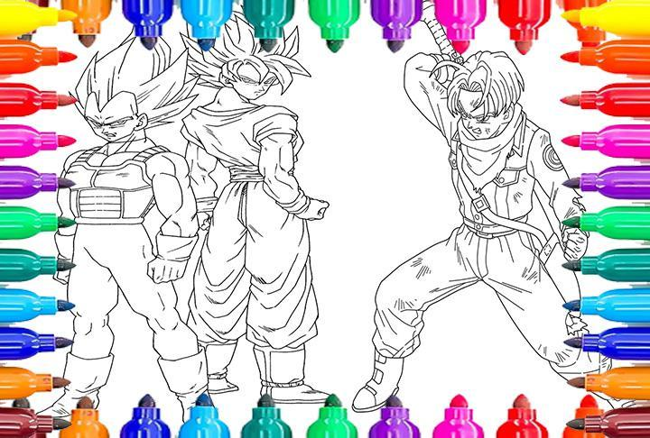 Coloriage Dbs Dragon Ball Supers For Android Apk Download