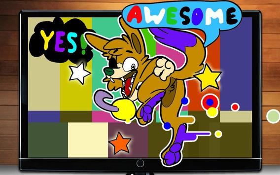 Fnaf 3 Colouring Pictures : Paint foxy coloring book fnaf apk download free casual game for
