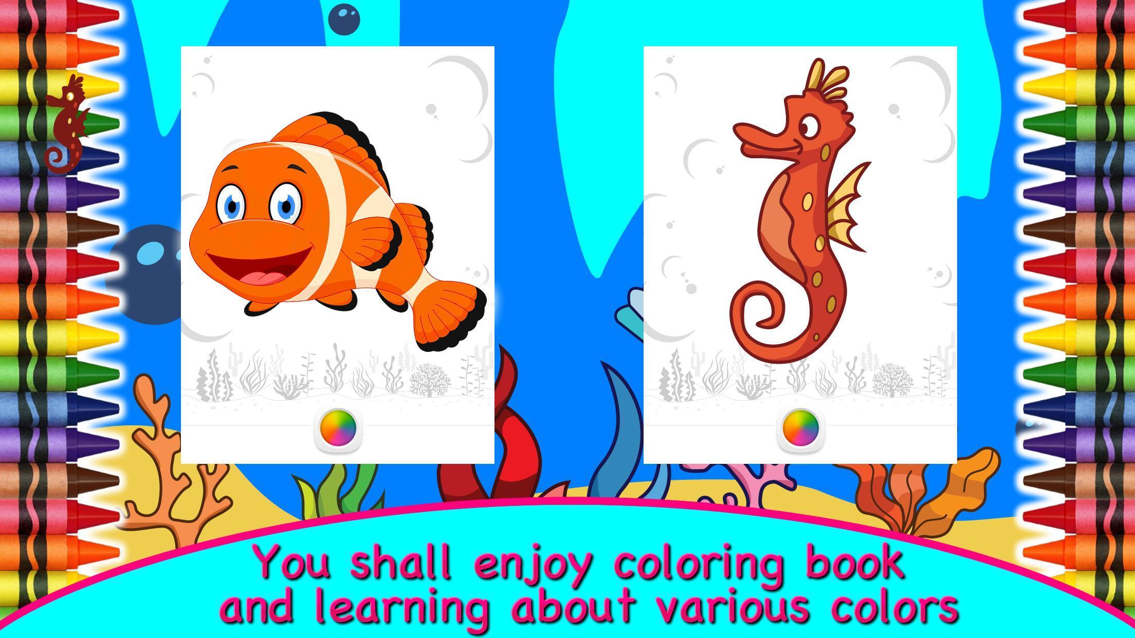 Mewarnai Ikan Binatang Laut For Android APK Download