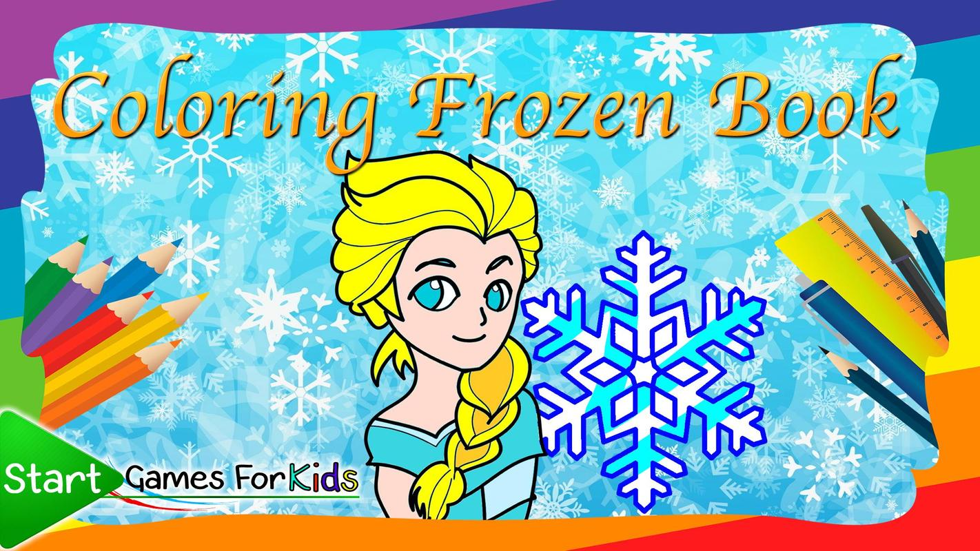 Coloring Frozen Ice World Book APK Download