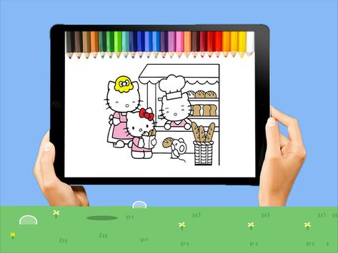 colorear Hello Kitty for Android - APK Download
