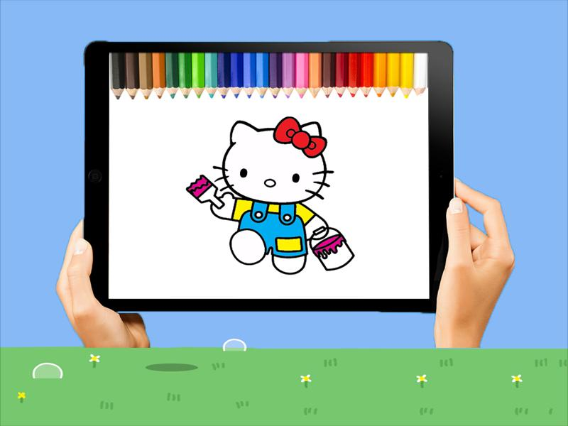 Mewarnai Hello Kitty For Android Apk Download