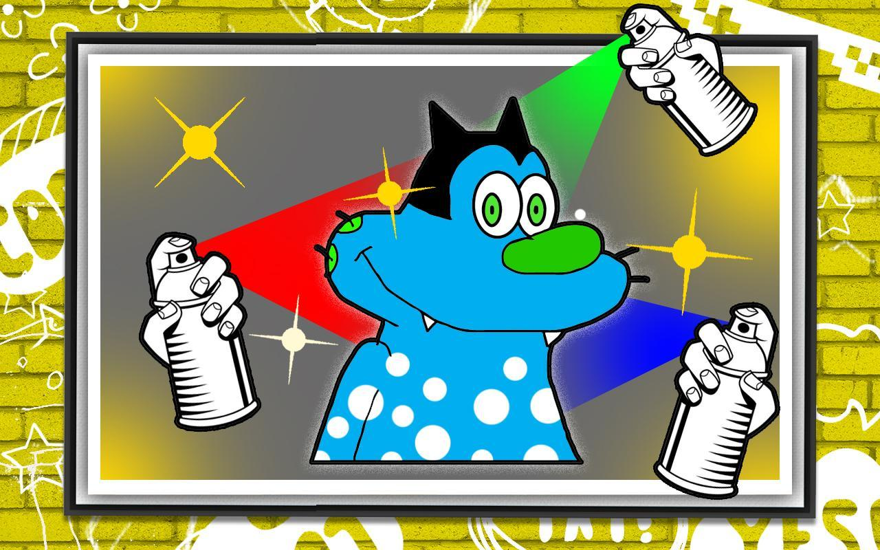 Kids Coloring Game for Oggy APK Download - Free Educational GAME for ...