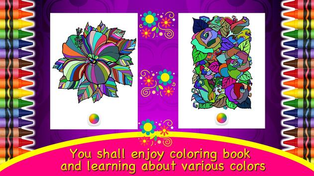 Coloring Mandalas of Flowers screenshot 3