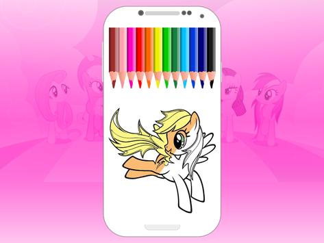 pony coloring pages - MLP screenshot 3