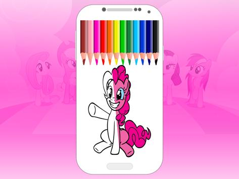 pony coloring pages - MLP screenshot 1