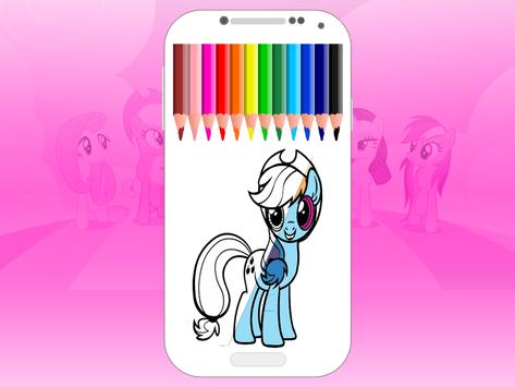 pony coloring pages - MLP screenshot 4