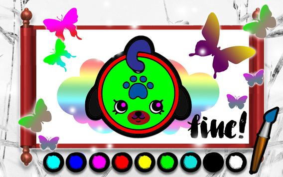 Kids coloring book of Shopkin APK Download  Free Card GAME for