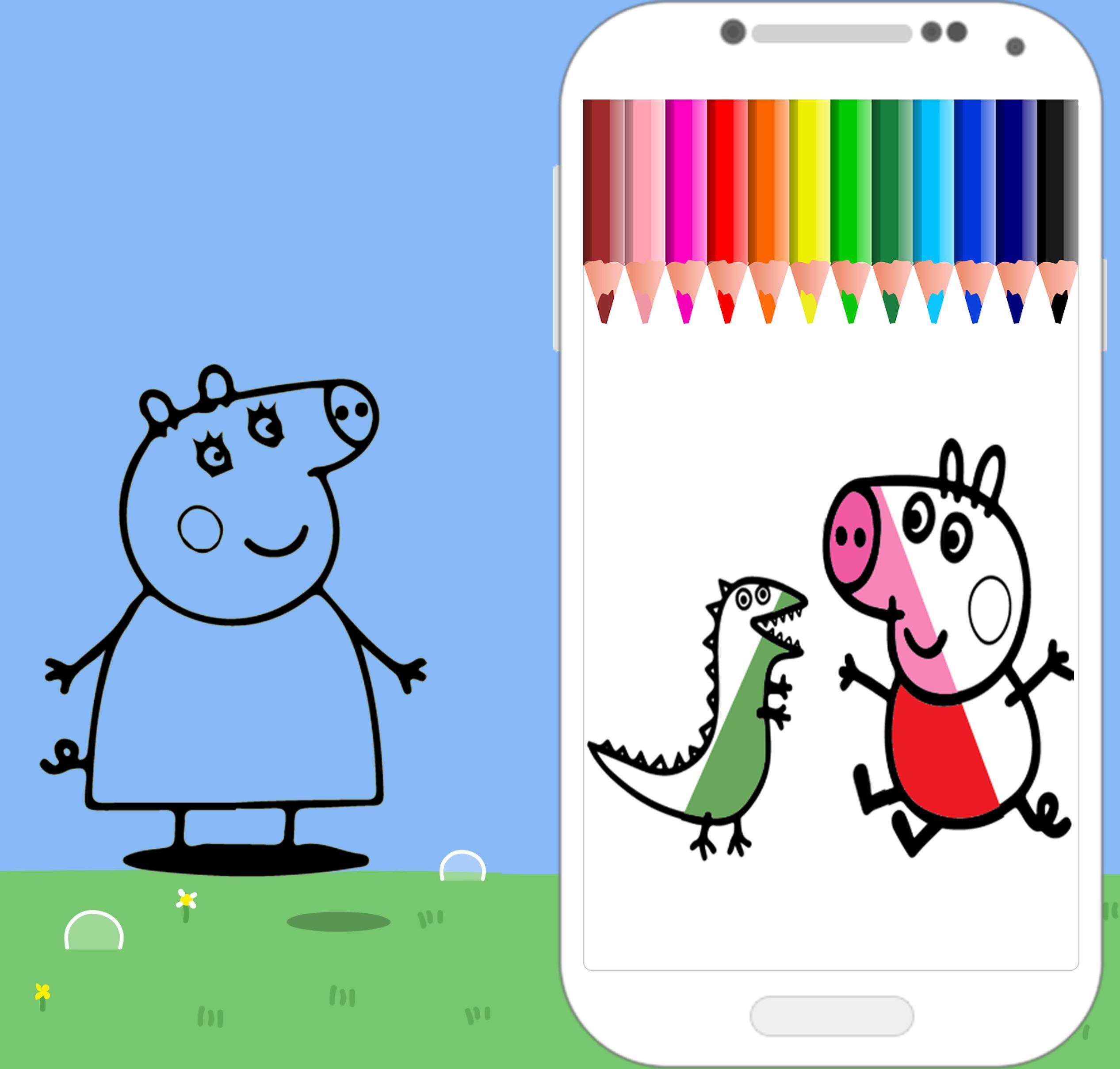 Colorir O Jogo Peppa Pig Para Android Apk Baixar