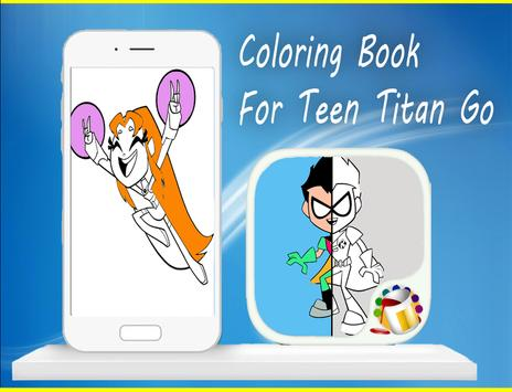 Coloring Book For Teen-Titan😍 poster