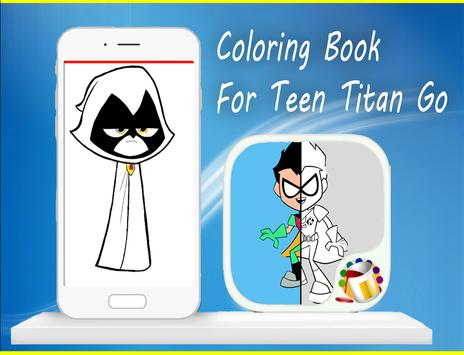 Coloring Book For Teen-Titan😍 screenshot 10