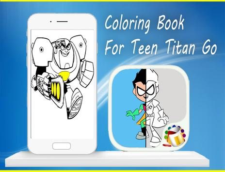 Coloring Book For Teen-Titan😍 screenshot 11