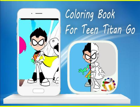 Coloring Book For Teen-Titan😍 screenshot 9