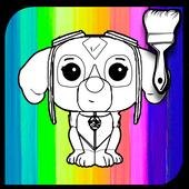 Coloring Book Paw Puppy Patrol icon
