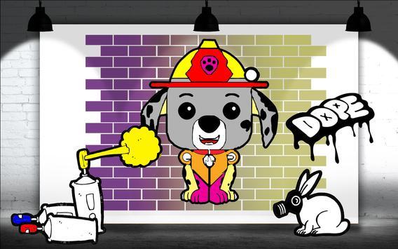 Coloring Book Paw Puppy Patrol screenshot 5