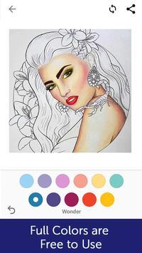 Mandala ,Adults Art Therapy Coloring Pages screenshot 3