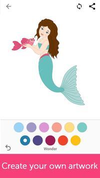 Mermaids: Coloring Book for Adults screenshot 3