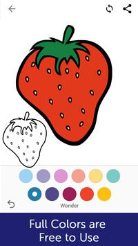 Fruits Coloring Book screenshot 5