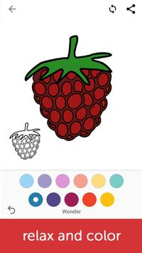 Fruits Coloring Book screenshot 2