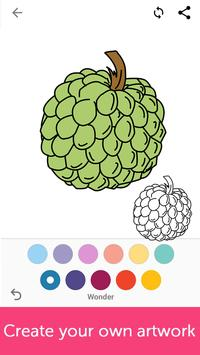 Fruits Coloring Book screenshot 3