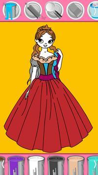 Princess Coloring - Magic Girl Coloring apk screenshot
