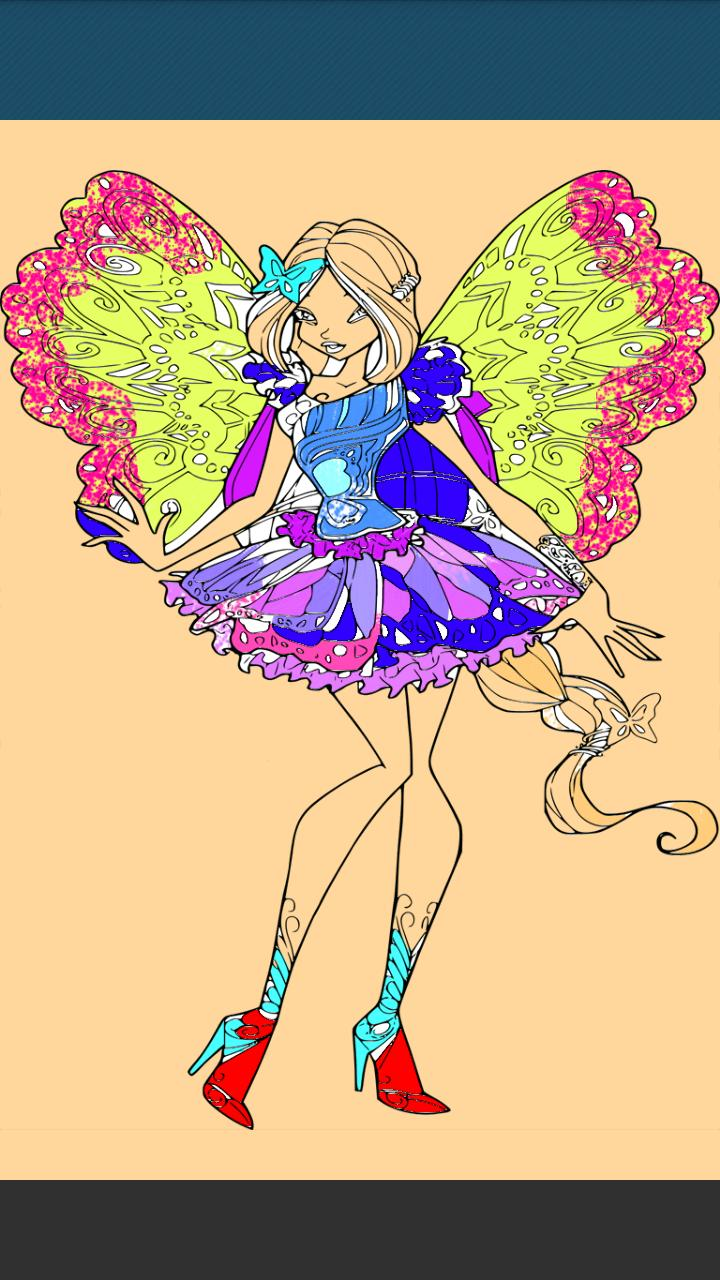 How to Color Winx Club- color book Pro poster