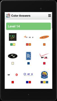Answers for Logo Quiz (Colors) screenshot 5