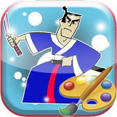 Como Colorir Jack Samurai Para Android Apk Baixar