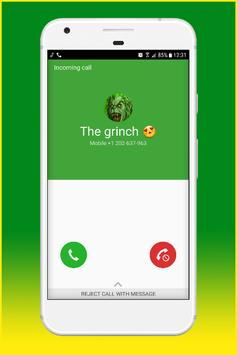 Fake Call From The Grinch poster