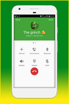 Fake Call From The Grinch screenshot 11